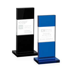 Black and Blue Glass Award