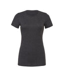 dark grey fitted ladies t-shirt