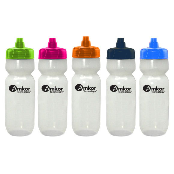 Translucent Plastic Water Bottle with Logo