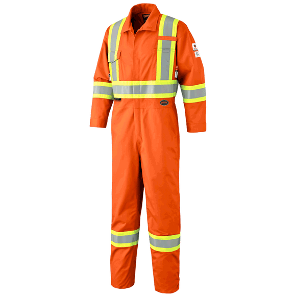 FR-TECH® FR/ARC RATED 7 OZ HV SFTY COVERALLS