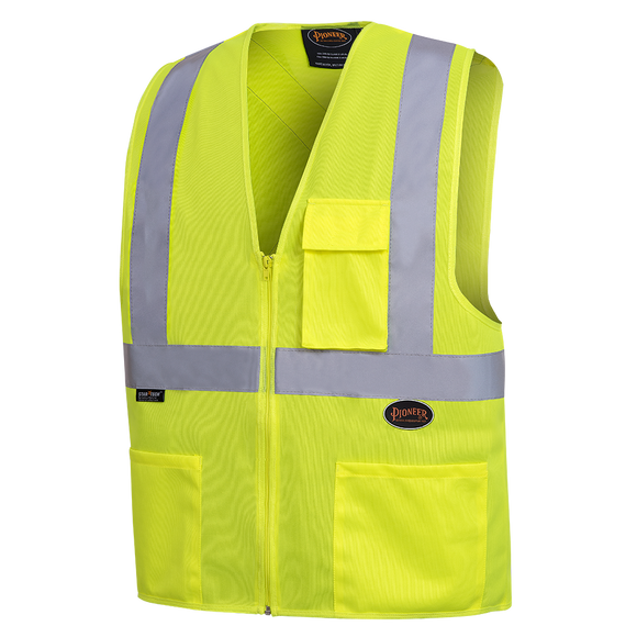 HI-VIZ SAFETY VEST WITH 2