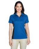 Ladies colour block polo royal