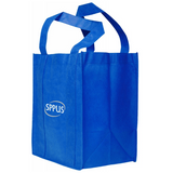 Large Blue non-woven shopping bag with logo