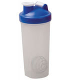 Blender Bottle Shaker Blue Lid
