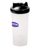 Blender Bottle Shaker Black Lid