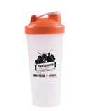 Blender Bottle Shaker Orange Lid