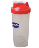 Blender Bottle Shaker Red Lid