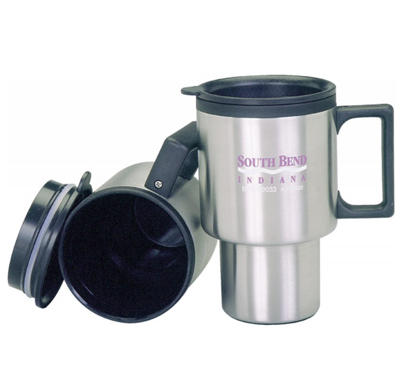 Stainless steel travel mug 99033