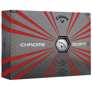 Golf balls Callaway HEX CHROME SOFT X - Box of 12 balls 1853
