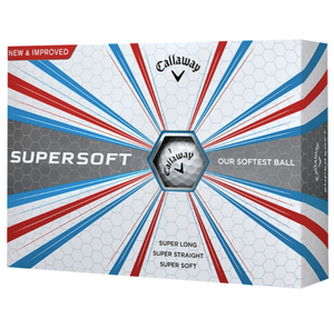 Golf balls Callaway SUPERSOFT - Box of 12 balls 1589