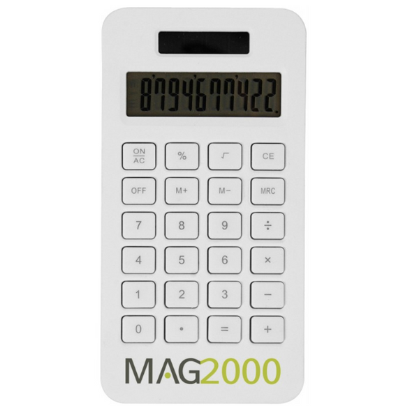 Solar pocket calculator (10 digit) 1480