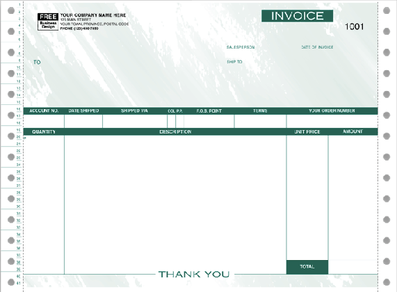 NewViews Invoice Forms - Continuous 7