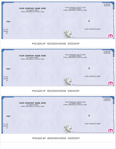 QuickBooks High Security Cheques - 3-to-a-Page WHS9011