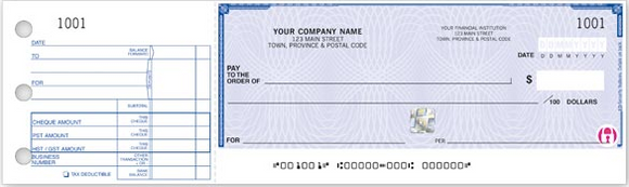 High Security 1-To-A-Page Cheques WHS438