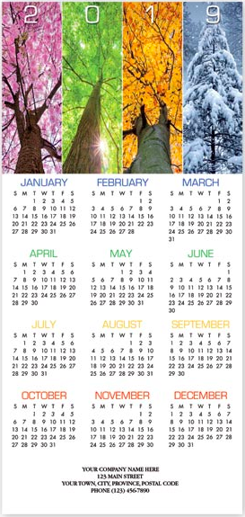 Yearlong Wishes Calendar Cards HHZ7405