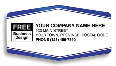 Vinyl Weather Resistant Labels - White CC1512