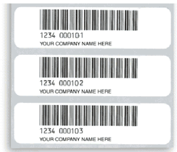 PARS Bar Code Labels 8081