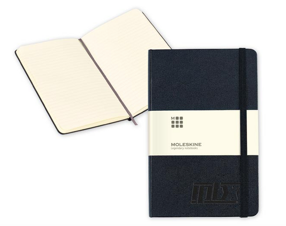 Moleskine Hard Cover Ruled Medium Notebook 766300