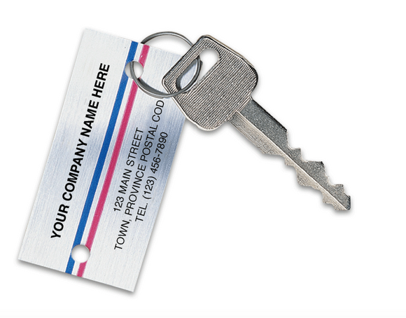 Promotional Key Chains - Automotive Key Tags 1158