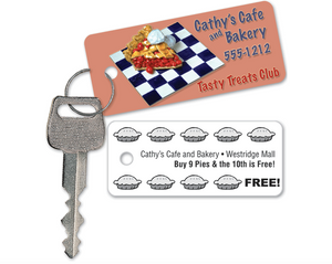 Loyalty Key Tags - Custom Printing SP6600