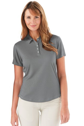 Ladies' Callaway Polo Grey
