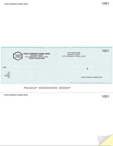 Laser Middle Cheque (W9039)