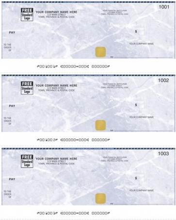 Security 3-to-a-page Cheque (WSS9011)