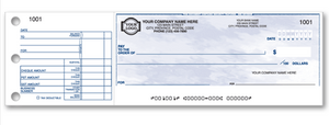 Standard One-to-a-Page Cheque W438