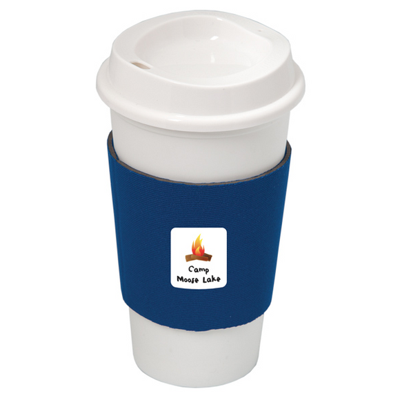 NYC PLASTIC CUP WITH NEOPRENE SLEEVE DA7437