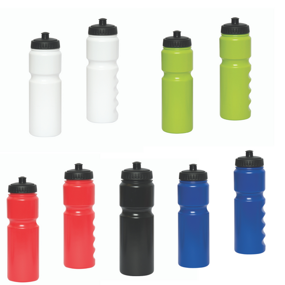 FUNCTIONISTA 750 ML. (25 FL. OZ.) PUSH-PULL WATER BOTTLE