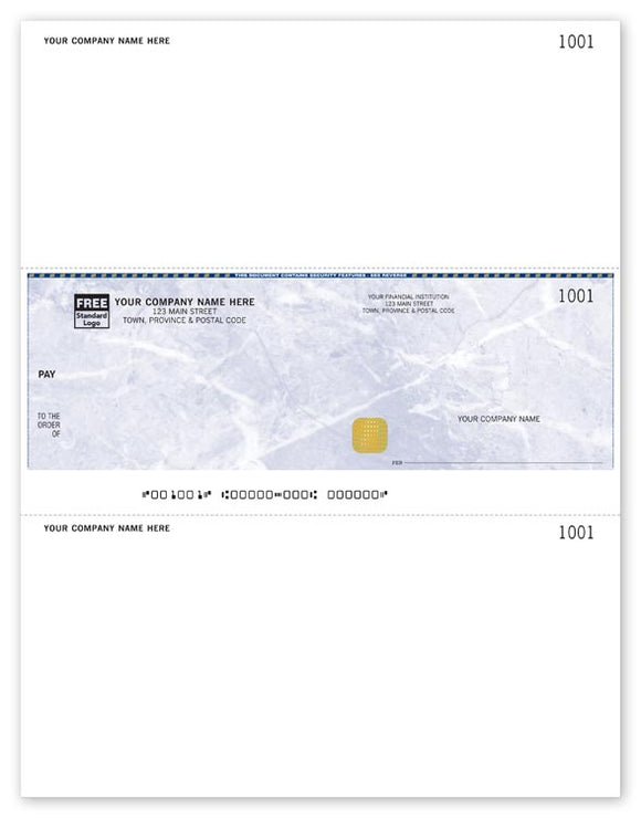 Security Laser Middle Cheque (WSL9037)