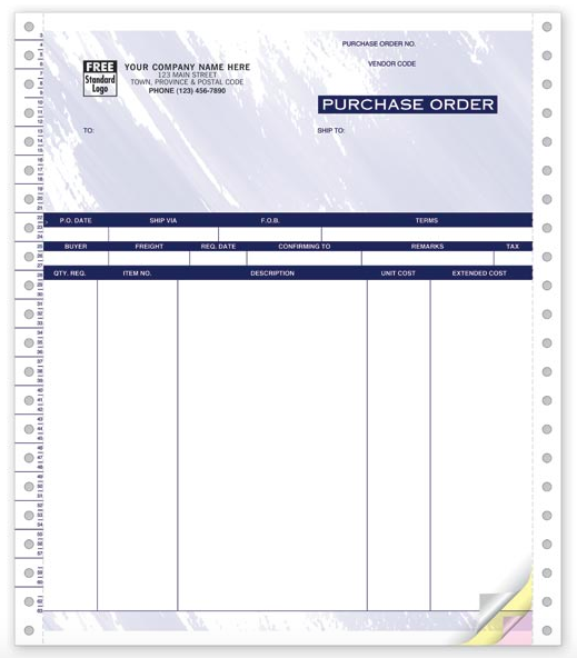 Accu-Pac Purchase Order Forms