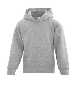 Youth hoodie athletic heather grey