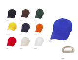 Available colours in the Versa Baseball cap