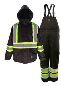 Black Insulated Safety Suit