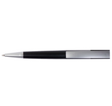 Black plastic pen top view