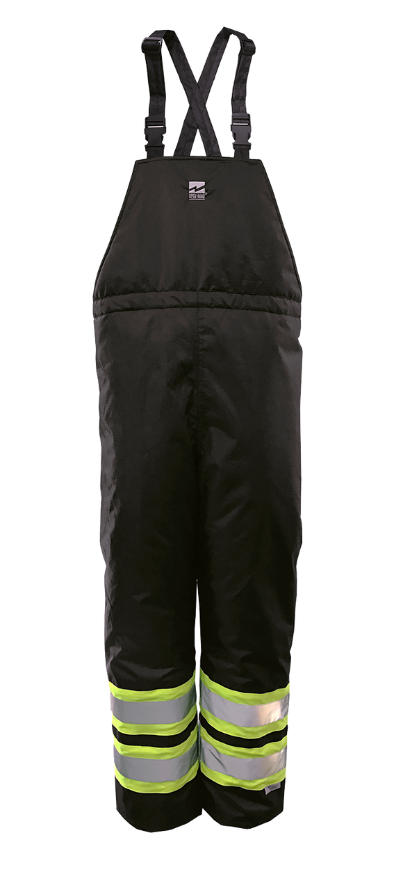 Black Safety Bib Pants