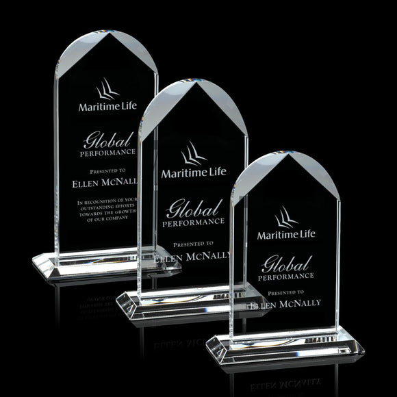 Blake Crystal Award Three sizes