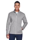 Devon & Jones Men's Bristol Full-Zip Sweater Fleece Jacket DG793