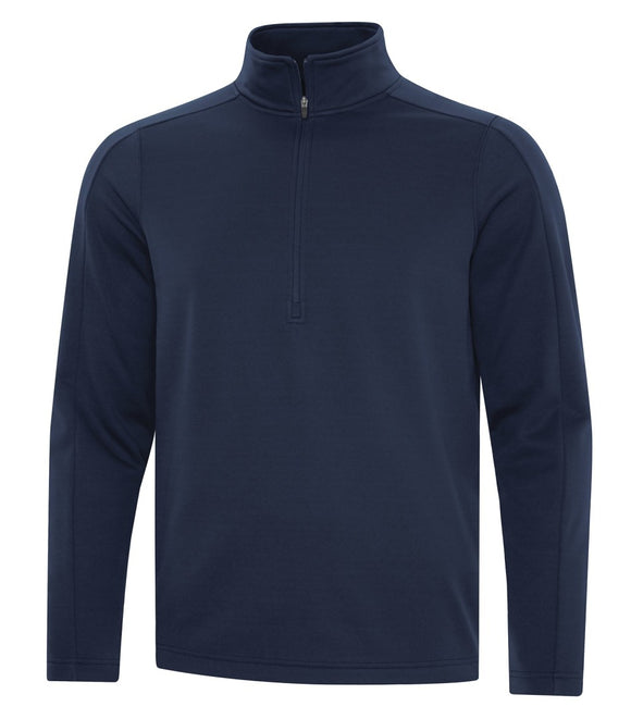 1/2 zip sweater navy