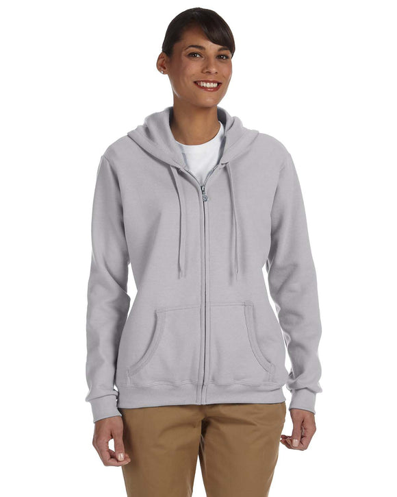 Gildan G186FL Ladies' Heavy Blend™ 13.3 oz./lin. yd., 50/50 Full-Zip Hood