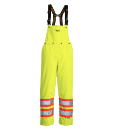Green Safety Bib Pants
