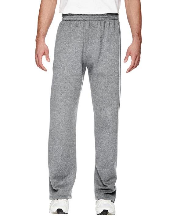 Grey sweatpants front view
