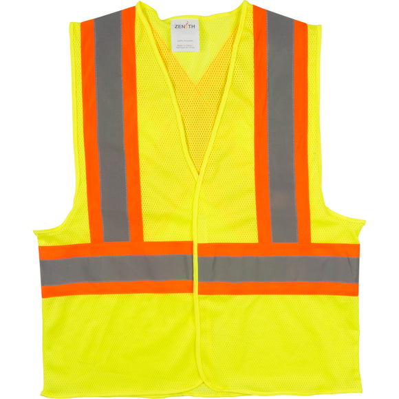 CSA Z96 Class 2 - Level 2 Green Safety Vest