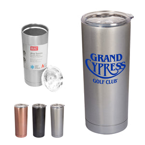 20oz stainless steel tumbler in 3 colours