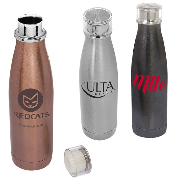 Travel tumbler for water or coffee