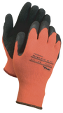 Orange Insulated Supported Grip Gloves