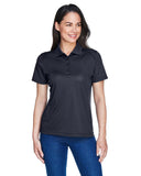 Ladies carbon grey polo