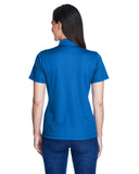 Ladies royal blue polo back