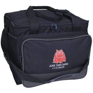 Large Two Toned Cooler Bag with Logo
